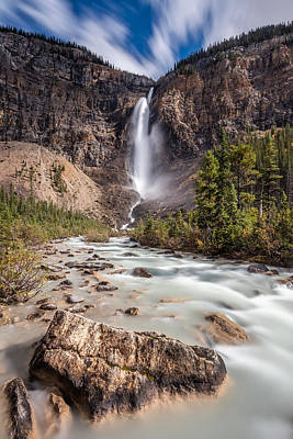 Photograph - Takakkaw Falls   by Pierre Leclerc Photography