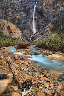 Photograph - Takakkaw Falls Portrait by Adam Jewell