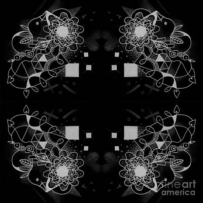 Digital Art - Take A Chance 2 Inverted by Helena Tiainen