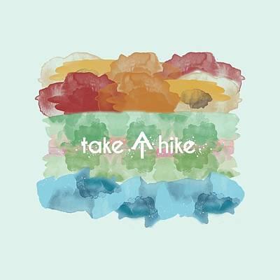 Digital Art - Take A Hike Appalachian Trail by Heather Applegate