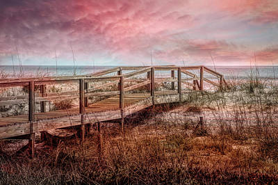 Photograph - Take A Long Walk Into Dawn by Debra and Dave Vanderlaan