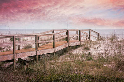 Photograph - Take A Long Walk Into The Soft Light Of Dawn by Debra and Dave Vanderlaan