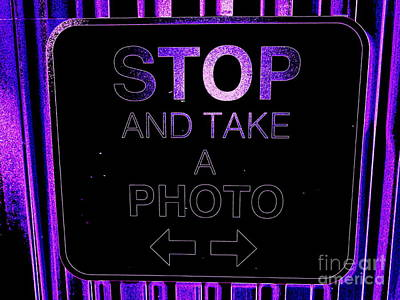 Photograph - Take A Photo by Ed Weidman
