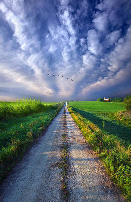 Photograph - Take A Right At The Barn by Phil Koch