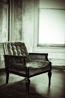 Photograph - Take A Seat by Holly Blunkall