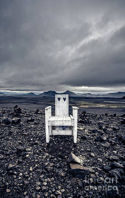 Photograph - Take A Seat Iceland by Edward Fielding
