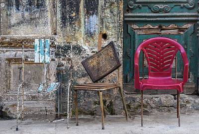 Photograph - Take A Seat by Rand