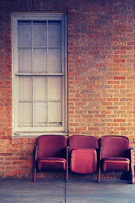 Art Print featuring the photograph Take A Seat by Trish Mistric