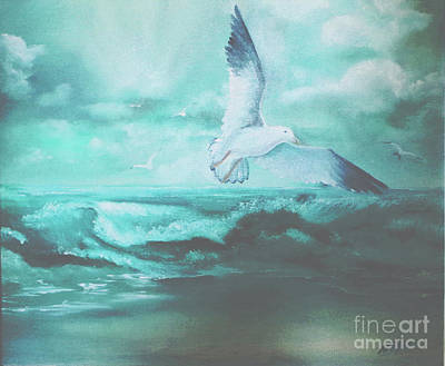 Painting - Take Flight by Al Payne