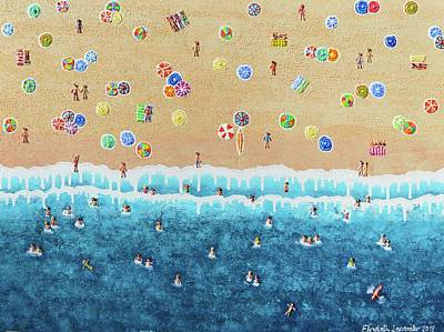 Painting - Take Me Back To St Tropez by Elizabeth Langreiter