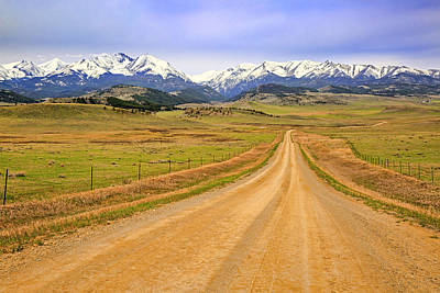 Photograph - Take Me Home Country Roads by Jack Bell