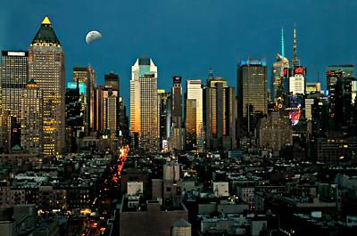 Take Me To Manhattan  Art Print by Diana Angstadt