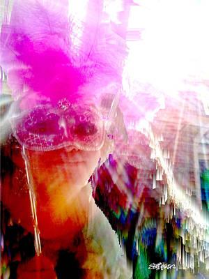 Digital Art - Take Me To The Mardi Gras by Seth Weaver