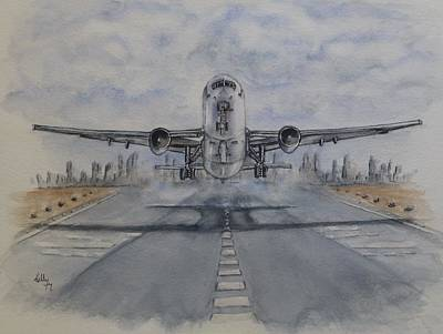 Painting - Take Off by Kelly Mills