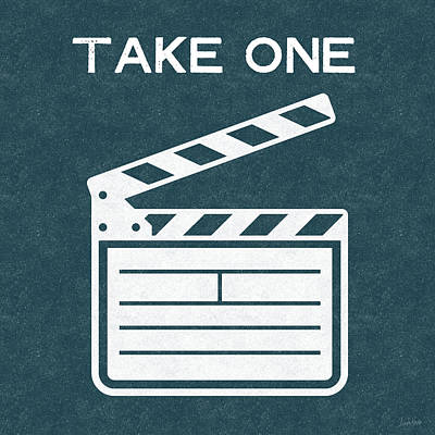 Take One- Art By Linda Woods Art Print by Linda Woods