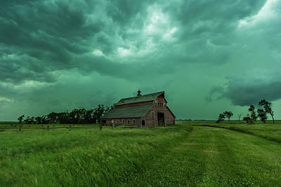Royalty-Free and Rights-Managed Images - Take Shelter Again by Aaron J Groen