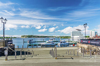 Photograph - Take Steps To The Bay by Steve Purnell