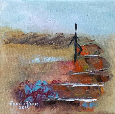 Painting - Take That Step by Judith Rhue