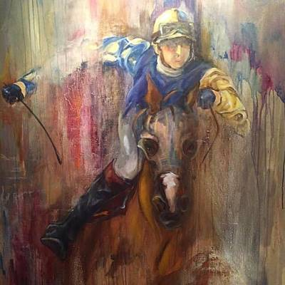 Painting - Take The Lead by Heather Roddy
