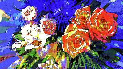 Photograph - Take The Roses by David Pantuso