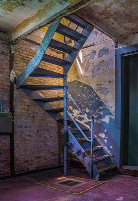 Photograph - Take The Stairs by Bill Pevlor
