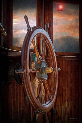 Take The Wheel Art Print by Brian Wallace