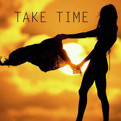 Photograph - Take Time. by Sean Davey