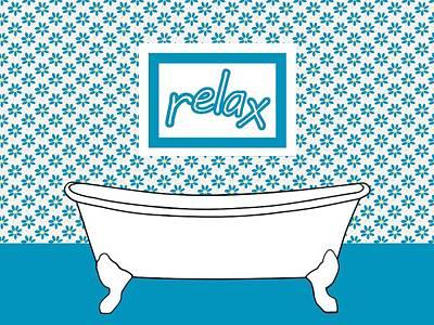 Washrooms Digital Art - Take Time To Relax by Kathleen Sartoris