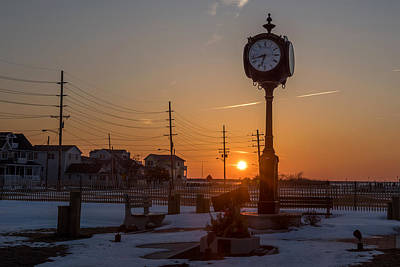 Take Time To Remember Seaside Park Nj Art Print by Terry DeLuco