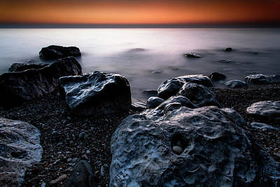 Photograph - Taken For Granite by CA Johnson