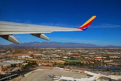 Photograph - Takeoff From Tucson by Kathryn Meyer