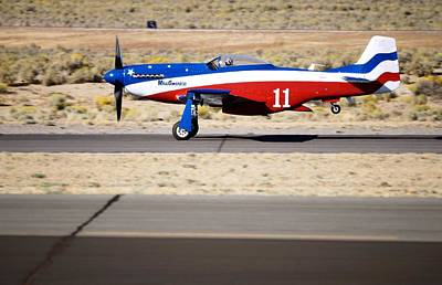 Photograph - Takeoff Roll by Michael Courtney