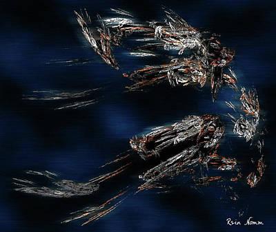 Digital Art - Taking A Leap by Rein Nomm