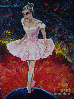 Overcoming Painting - Taking Center Stage by Robert Yaeger