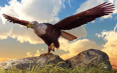 Digital Art - Taking Flight by Daniel Eskridge