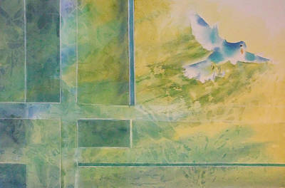 Painting - Taking Flight To The Light by Debbie Lewis