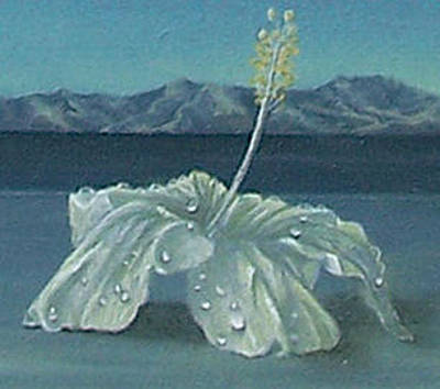 Painting - Taking Leave Close Up by Sharon Ebert