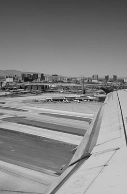 Photograph - Taking Off From Lost Vegas by Alex King