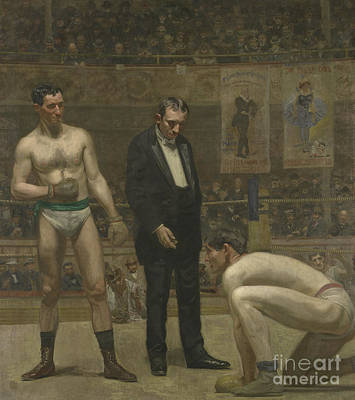 Taking The Count, 1898 Print by Thomas Cowperthwait Eakins