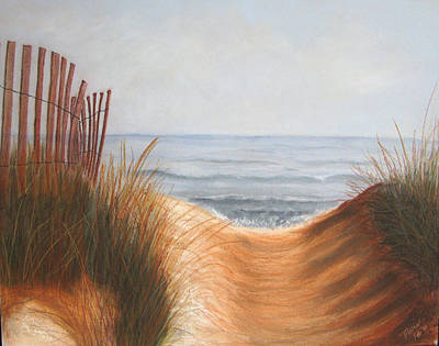Taking The Path Art Print by Maris Sherwood