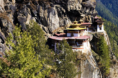Sites Photograph - Taktsang Monastery  by Fabrizio Troiani