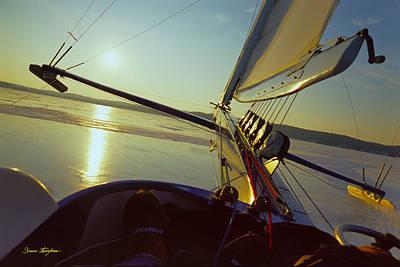 Buy Photograph - Taku - Lift Off - Lake Geneva Wisconsin by Bruce Thompson