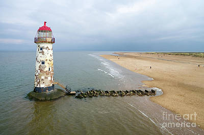 Photograph - Talacre Aerial 1 by Steev Stamford