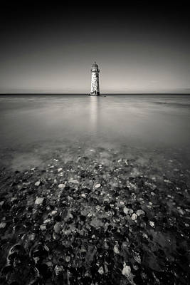Ethereal - Talacre Lighthouse by Dave Bowman