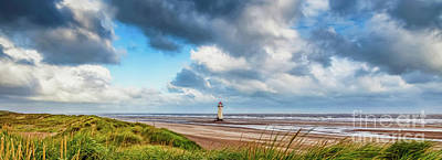 Photograph - Talacre Lighthouse Wales by Adrian Evans