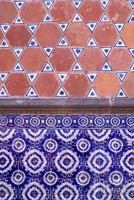 Photograph - Talavera Tiles Puebla Mexico by John  Mitchell