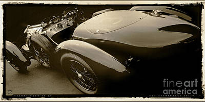 Photograph - Talbot Lago 26 Ss by Curt Johnson