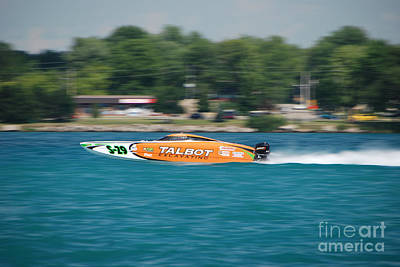 Talbot Offshore Racing Art Print