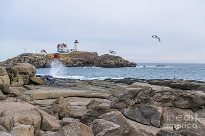 Photograph - Tale Of Two Lighthouse by Patrick Fennell