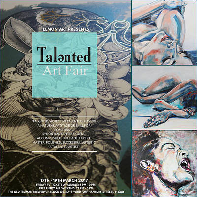 Painting - Talented Art Fair London March 2017 by Christel Roelandt